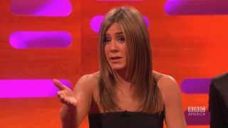 "Jennifer Aniston, ""Friends"" Reunion, and Her Iconic Hairdo - The Graham Norton Show on BBC America"