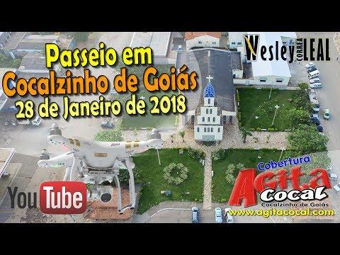 Passeio de Drone em Cocalzinho de Goiás