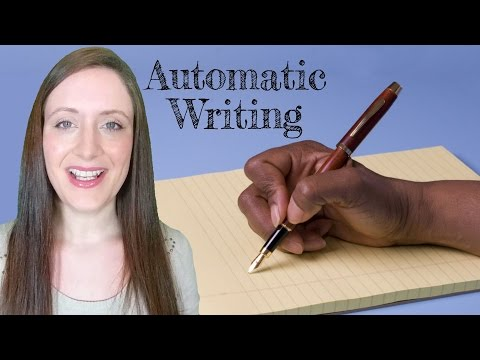 How To Do Automatic Writing (Contact & Channeling Through Writing).