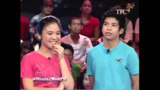 Nash Aguas' Banat in Minute to Win It