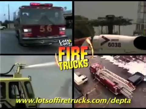 Xe cứu hỏa hiện đại nhất thế giới