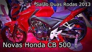 Nova Honda CB 500 2014 NOVIDADE