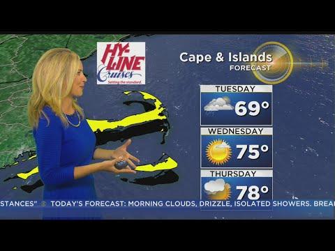 WBZ Morning Forecast For July 25
