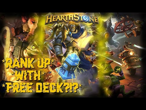 Hearthstone - Gameplay Paladin *Ranking Up With Free Deck!!*