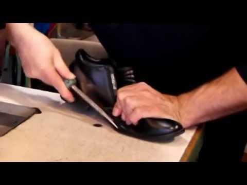 Как сделать внутреннюю заплатку на обувь