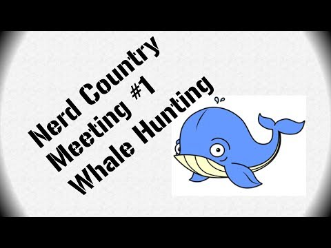 Nerd meeting #1 Whale hunting