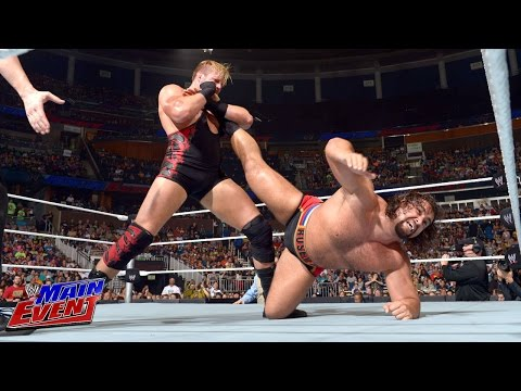 Jack Swagger vs. Rusev: WWE Main Event, July 22, 2014