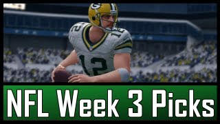 NFL - Week 3: Complete Picks & Predictions (2012-2013)