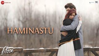 haminastu song from fitoor movie, Katrina Kaif, Aditya Roy kapoor, bollywood movies