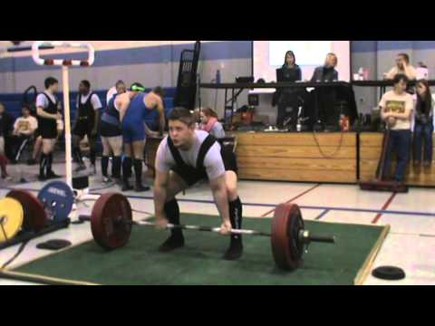 NATIONAL RECORD DEADLIFT ADFPF Andrew Huevalman 245.25kg