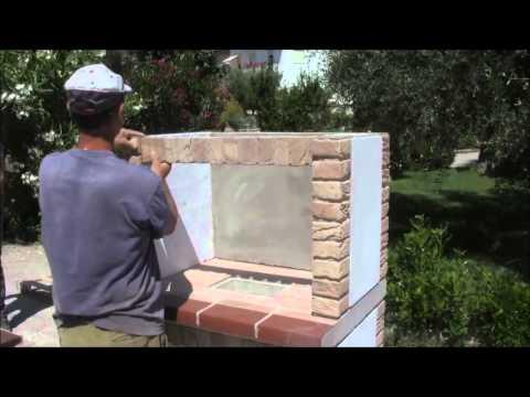 BARBECUEMANIA PALMA 94 - Istruzioni di montaggio barbecue in muratura