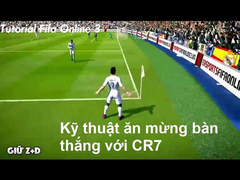 [Tutorial] Fifa Online 3 - Kỹ thuật ăn mừng bàn thằng với CR7