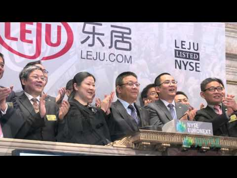 Leju Holdings Limited Celebrates IPO on the New York Stock Exchange