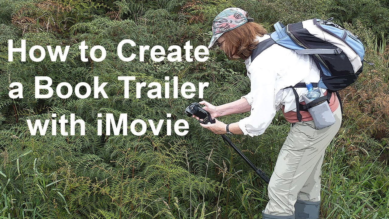 How To Make A Book Trailer On Imovie : How to create a book trailer with imovie youtube