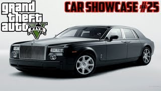 GTA V: Super Diamond (Rolls Royce Phantom) Car Showcase