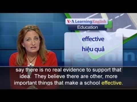 Anh ngữ đặc biệt: Same Sex Education (VOA-Edu)