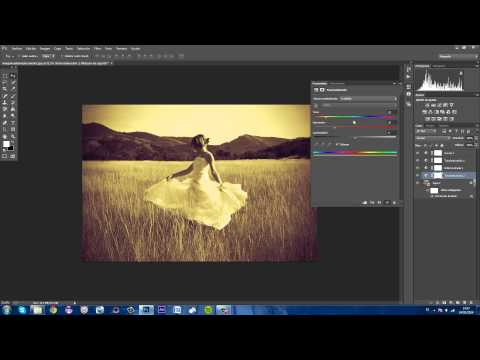 Tutorial Photoshop CC: Efecto Fotografia Antigua