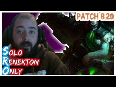 URGOT vs AATROX | SoloRenektonOnly | URGOT Top | FULL GAME | Full Gameplay | LOL Patch 8.20