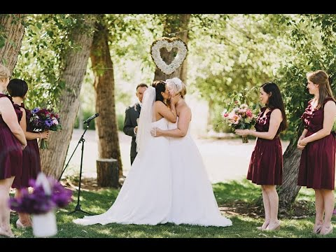 Sarah + Laura ♥ Beautiful Lesbian Wedding ♥ Highlights Video