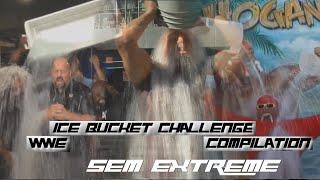 """WWE """"Ice Bucket Challenge"""" Compilation [HD]"""