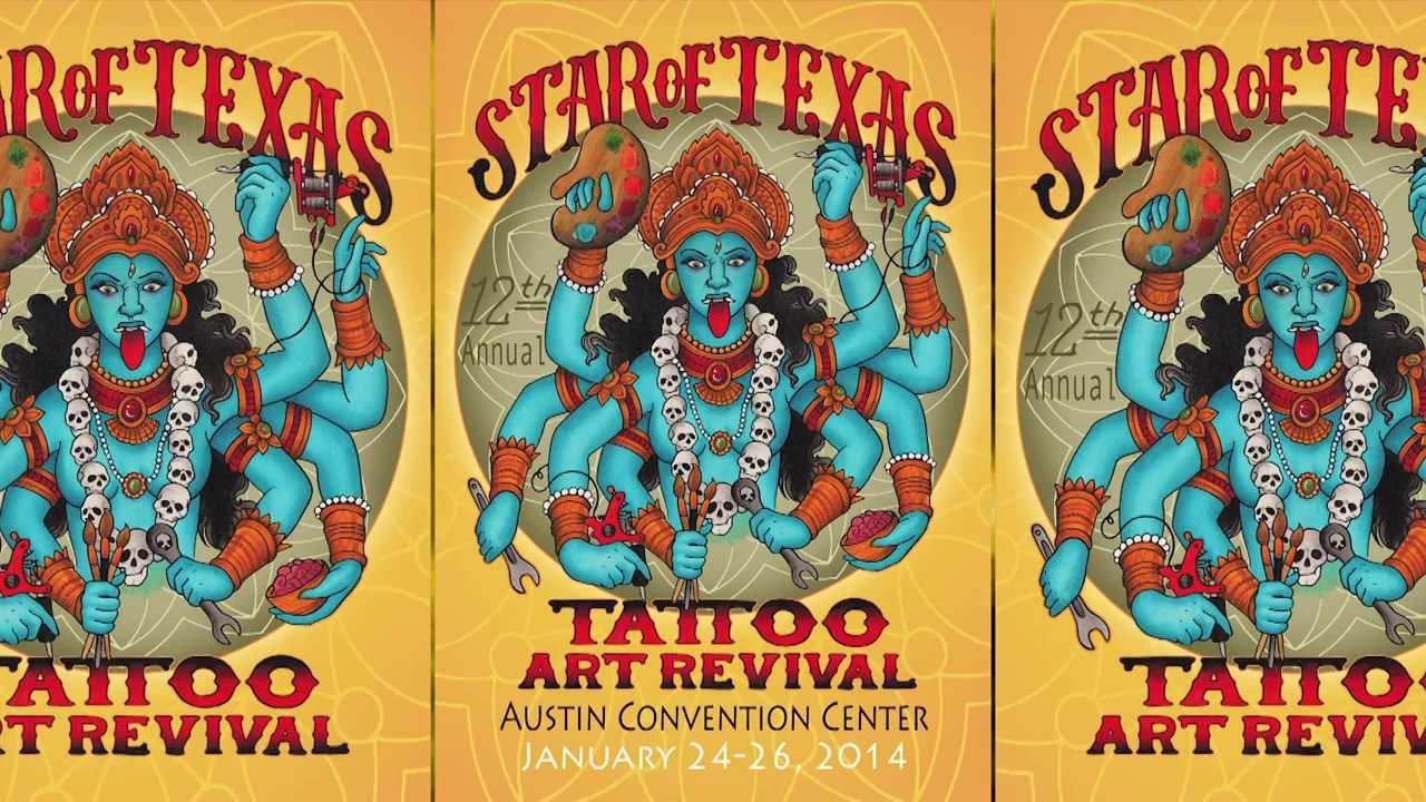Star of texas tattoo art revival 2014 tv spot youtube for Texas tattoo license