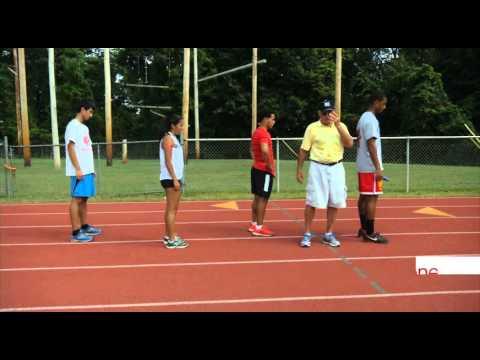 Come to 4x100m Relay Practice (Short excerpt)
