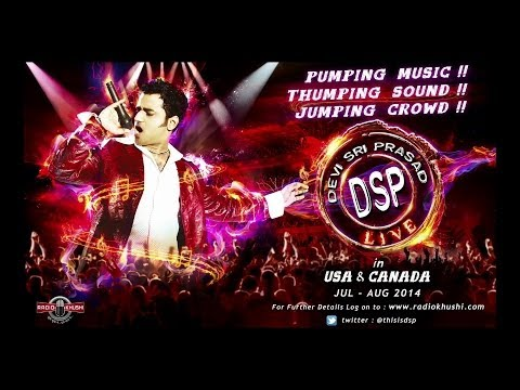 Devi Sri Prasad Live in concert USA & Canada – Launch Promo