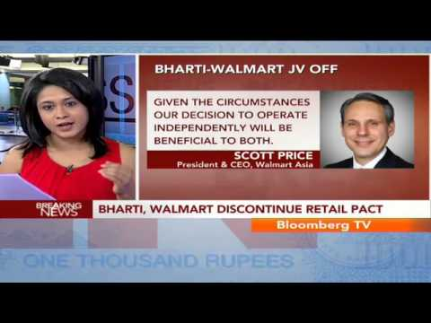 In Business - Bharti & Walmart To Operate Independently In India