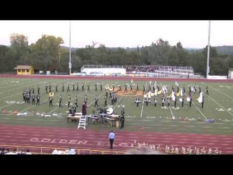 2012 godley high school band performing angels demons