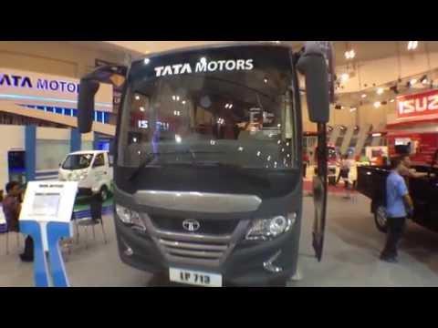 Review Singkat Tata LP 713 Medium Bus on GIIAS 2015