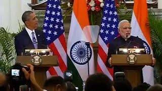 PM Modi-Barack Obama's joint press conference