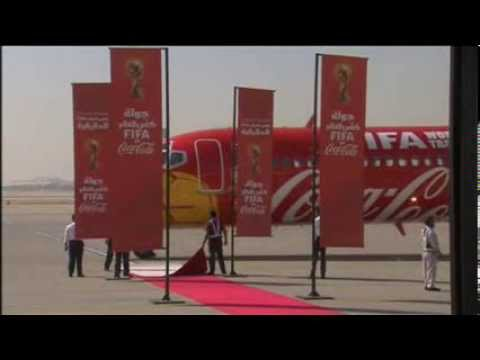 World Cup Trophy Reaches Saudi Arabia
