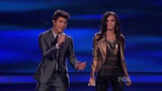 Joe & Demi On American Idol