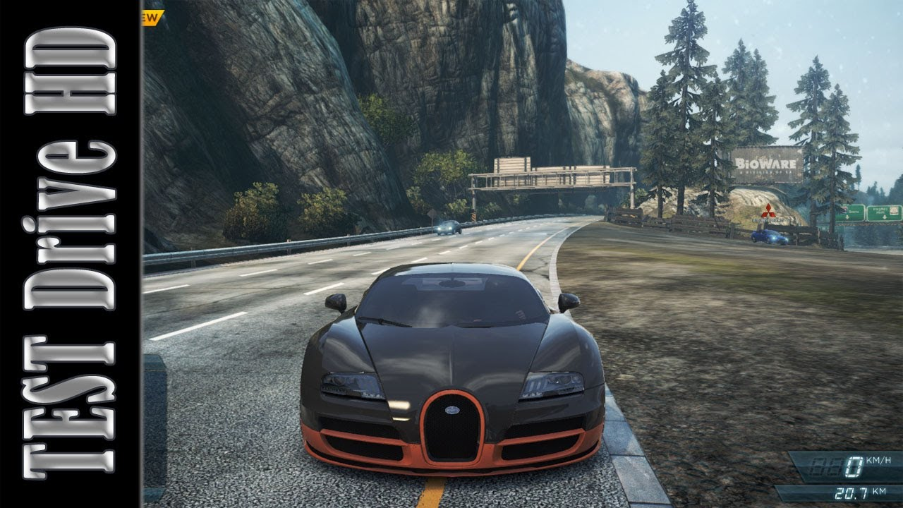 bugatti veyron super sport need for speed most wanted 2012 test drive hd youtube. Black Bedroom Furniture Sets. Home Design Ideas