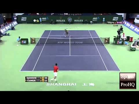 ATP SHANGHAI MASTERS OPEN 2013 ~  Semifinal   Highlights   Novak Djokovic Vs Jo Wilfried Tsonga