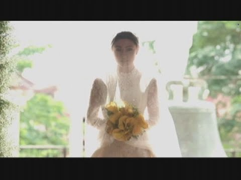BE CAREFUL WITH MY HEART : Maya walks down the aisle