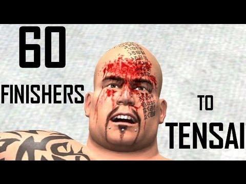 WWE 13 | 60 Finishers to Tensai