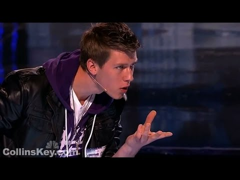 Americas Got Talent TEEN MAGICIAN'S CRAZY 1st AUDITION | Collins Key First Audition