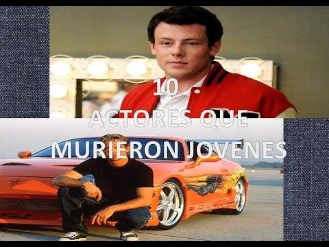 10 actores que murieron jovenes