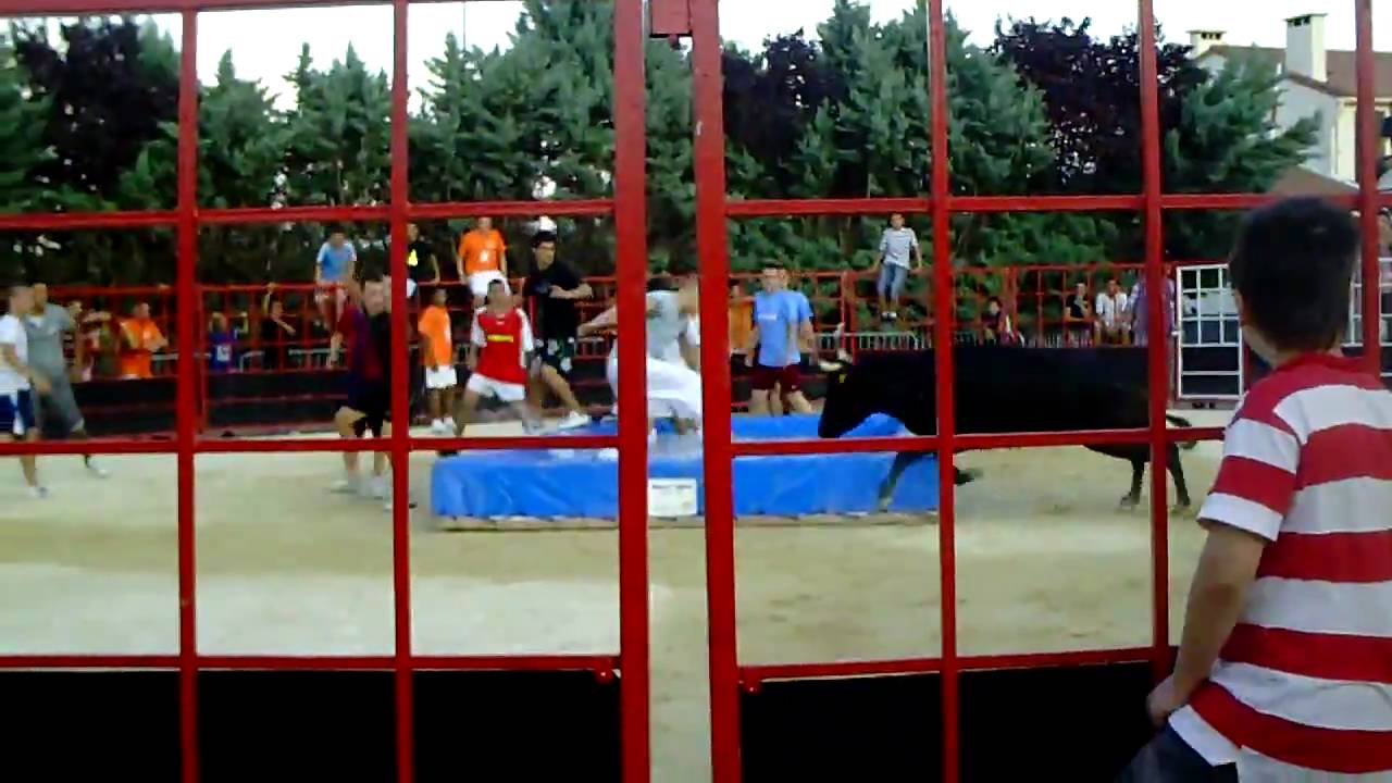 Jeu toro piscine youtube for Toro piscine labat