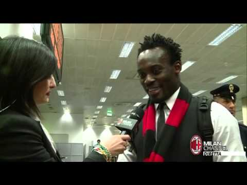 AC Milan | Essien: 'I can't wait to play for AC Milan' (with subtitles)
