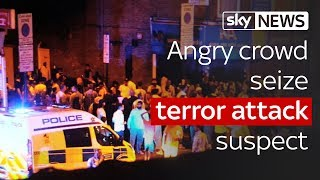 Finsbury Park terror attack: Angry crowd seize suspect