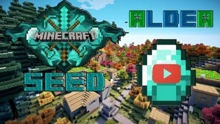 "Seed Minecraft 1.4.5 ""aldea Diamante"""