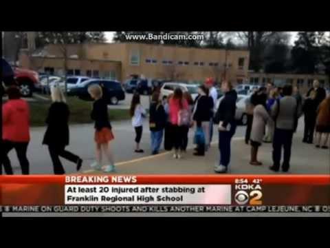 Pennsylvania High School Stabbing (Brooke Hyland's School)