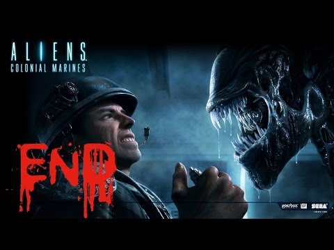 Aliens Colonial Marines Walkthrough END - Let's Play GamePlay Walkthrough