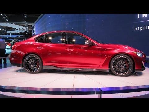 2015 Infiniti Q50 At The 2014 NAIAS Auto Show