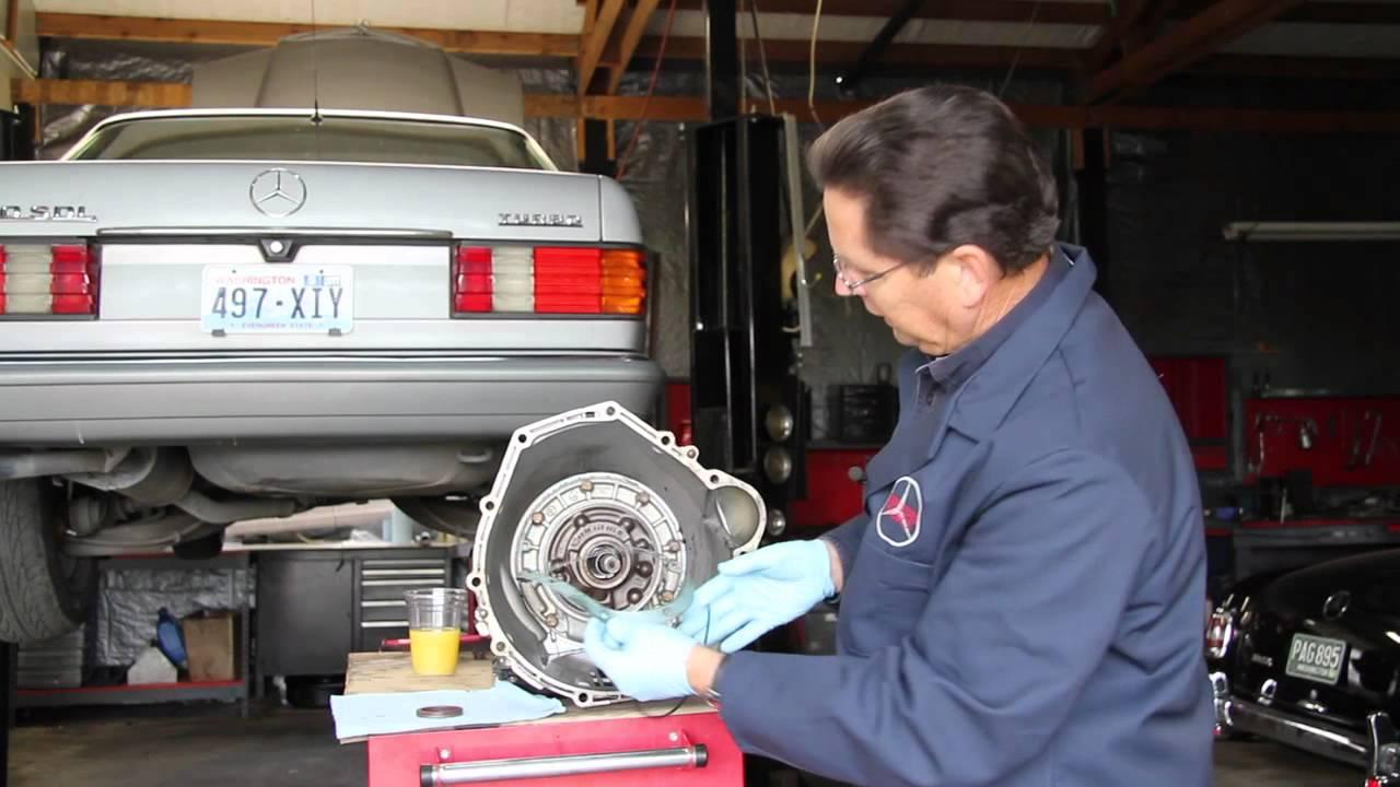 Mercedes Automatic Transmission Seal Leak Diagnosis Part 1