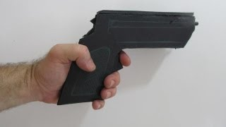 How To Make A Rubber Band Gun Out Of Foamboard