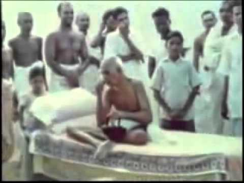 Ramana Maharshi Rare 1946 Documentary Footage Ramaji Satsang Enlightenment Meditation Advaita