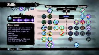 Darksiders 2 Skills & My Skill Build